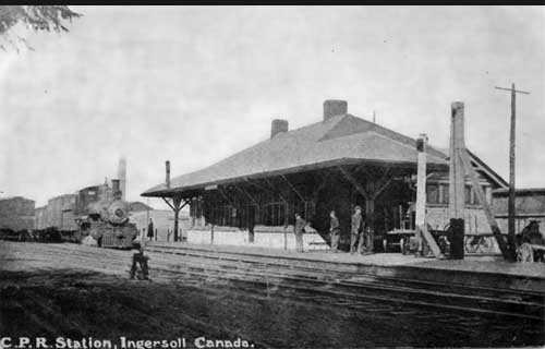 Ingersoll CPR Station