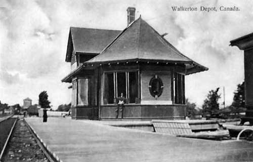 Railway Stations In Walkerton Ontario