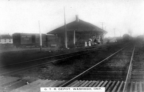 Railway Stations In Washago Ontario