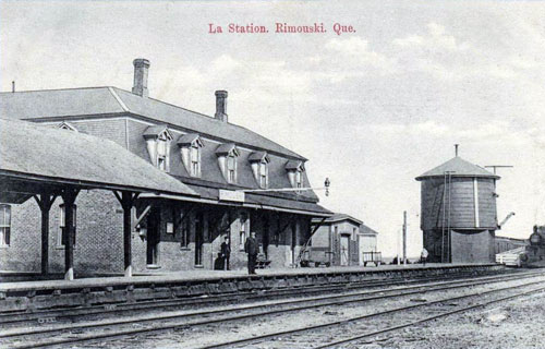 Railway stations in rimouski quebec for National rimouski