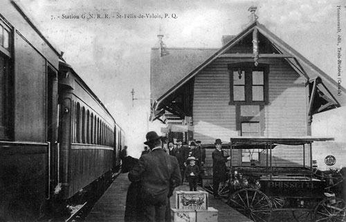 Railway stations in saint felix de valois quebec for Meuble aubaine st felix de valois