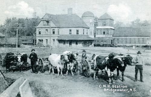 Railway Stations In Bridgewater Nova Scotia