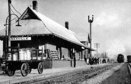 Maxville CN Station